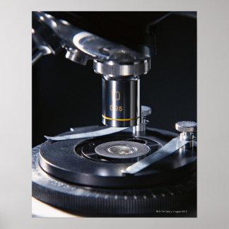 Optical Microscope Poster