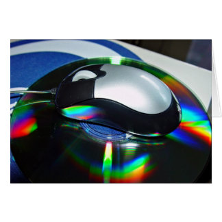 Optical mouse greeting card