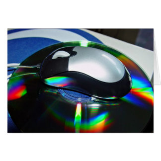 Optical mouse greeting cards