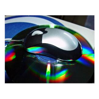Optical mouse post cards