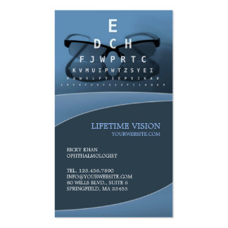 Optical/Ophthalmologist Business Card