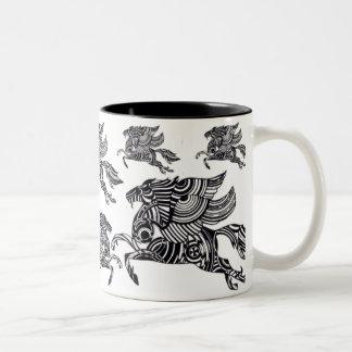 Optical Pegasus Coffee Mugs