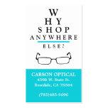 Optical Shop Business Card