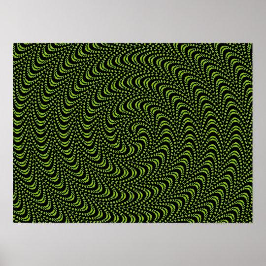 Optical Swirl Design LARGER SIZES UNDER CUSTOMIZE Poster
