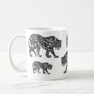 Optical Tiger Coffee Mug