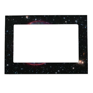 Optical:X-ray Composite Image of Supernova Remnant Picture Frame Magnet