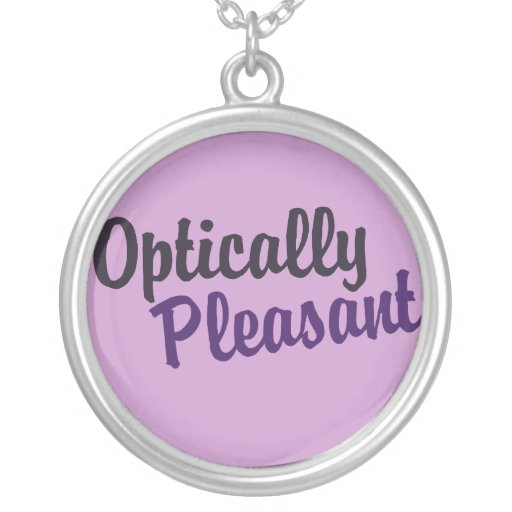 Optically Pleasant Necklace