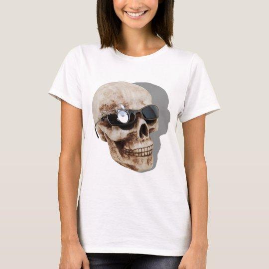 OpticalSkull042109shadows T-Shirt
