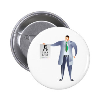 Optician Pinback Button
