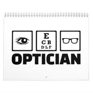 Optician Calendars
