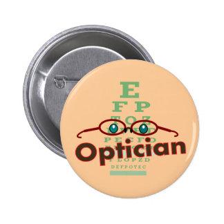 Optician--Eye chart Gifts Pins