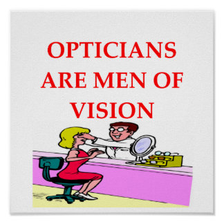 optician poster