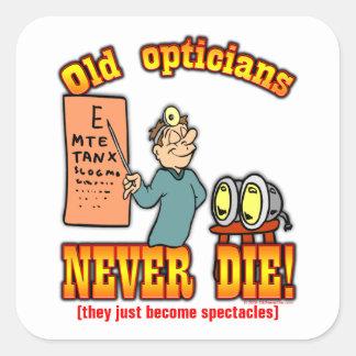 Opticians Square Sticker