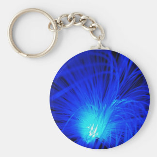 Óptico azul llaveros personalizados