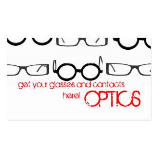 OPTICS BUSINESS CARD TEMPLATES