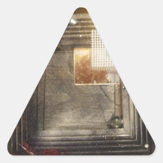 Optik Triangle Sticker