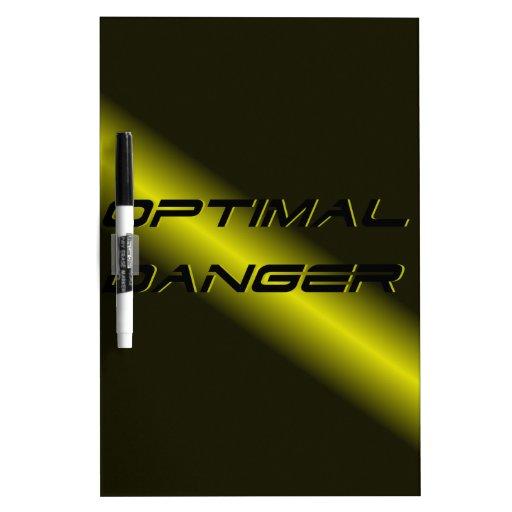 OPTIMAL DANGER. Dry-Erase WHITEBOARDS