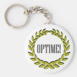 ¡Optime! ¡Trabajo excelente! Llavero Personalizado