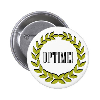 ¡Optime! ¡Trabajo excelente! Pin Redondo De 2 Pulgadas