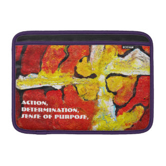 Optimism - Abstract Macbook sleeve