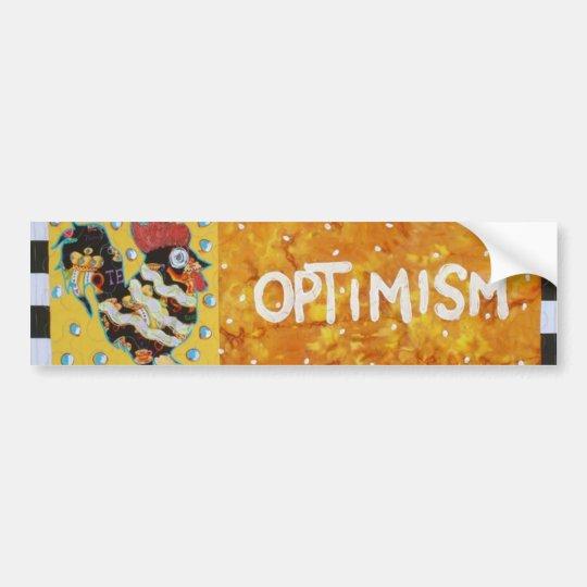 Optimism Bumper Sticker