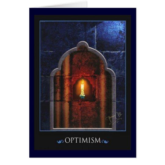 optimism card