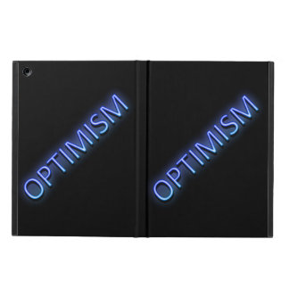 Optimism concept. cover for iPad air