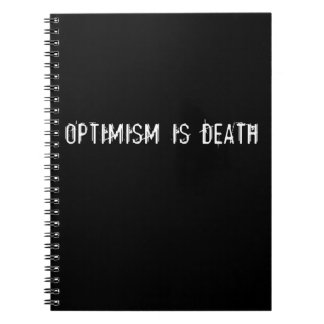 Optimism is Death Note Book