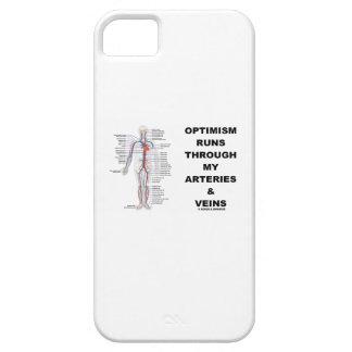 Optimism Runs Through My Arteries & Veins iPhone 5 Case