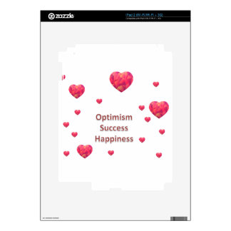 Optimism Success Happiness Skins For The iPad 2