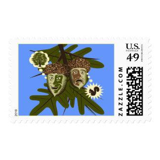 Optimist or Pessimist? Postage Stamp