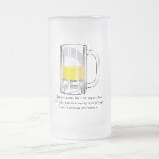 Optimist Pessimist Realist Mug