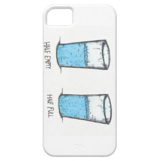 Optimist vs Pessimist iphone 5 case