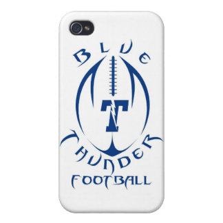 Optimist Youth Football Blue Thunder Under 12 Cover For iPhone 4