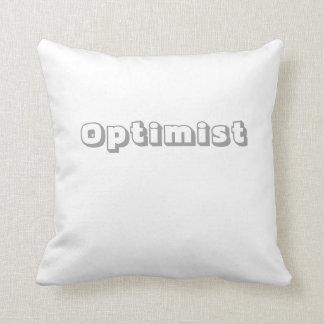 Optimista Cojín