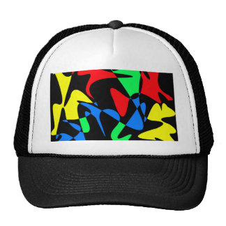 Optimistic abstraction trucker hat