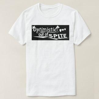 """""""Optimistic"""" black box T-Shirt"""