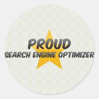 Optimizador orgulloso del Search Engine Pegatina