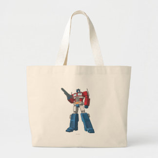 Optimus 1 large tote bag