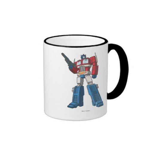 Optimus 1 taza de dos colores