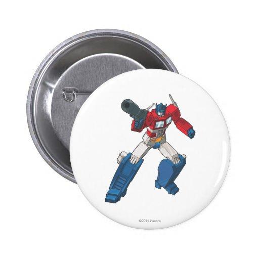 Optimus 2 pinback button