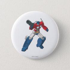 Optimus 2 Pinback Button at Zazzle