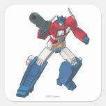 Optimus 2 square sticker