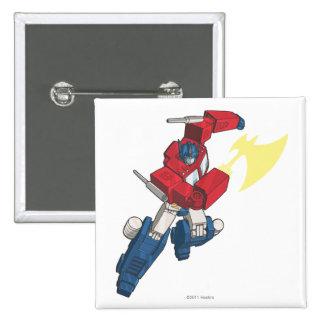 Optimus 3 pinback button