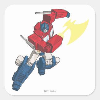 Optimus 3 square sticker