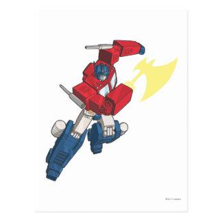 Optimus 3 tarjetas postales