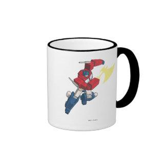 Optimus 3 taza de dos colores