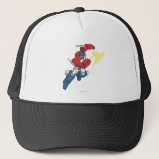 Optimus 3 trucker hat