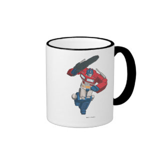 Optimus 4 ringer coffee mug