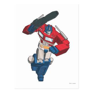 Optimus 4 postcard